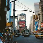 Times Square Area - NYC New York - 1987