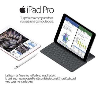 Adquiere en @compudemano iPad Pro con todos los accesorios que buscas para crear sin limitar tu imaginación. #cadadiamejor. Visita nuestra tienda o llámanos Bogotá: (1) 381 9922 - Medellín: (4) 204 0707 - Cali (2) 891 2999 - Barranquilla: (5) 316 130