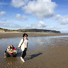 Exploring the beach in Wales with Yippie Yo Crossbuggy