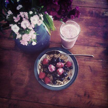 colazione breackfast frutti di bosco