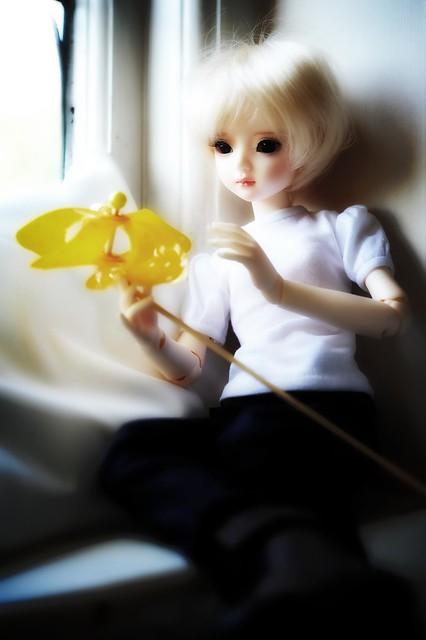 Darinka and flower