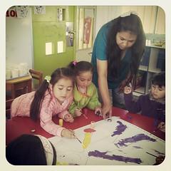 Trabajando con mis estudiantes más pequeños, #jallalla