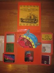Leif Erickson Lapbook Spread 2