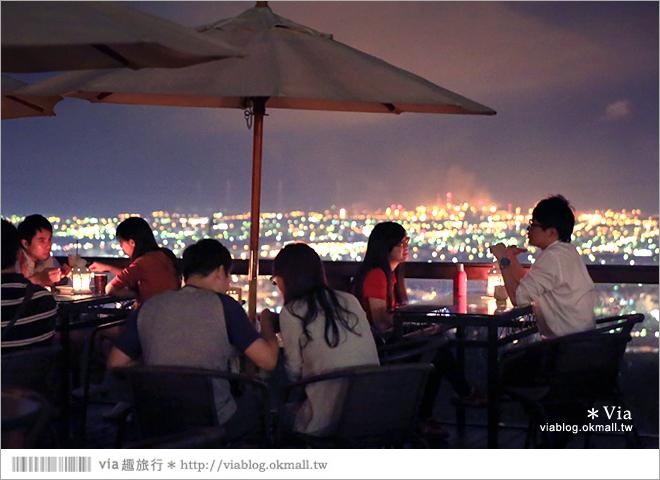 【台中夜景餐廳推薦】台中龍貓夜景~MITAKA 3e Cafe◎大推薦的台中約會地點♥ 56