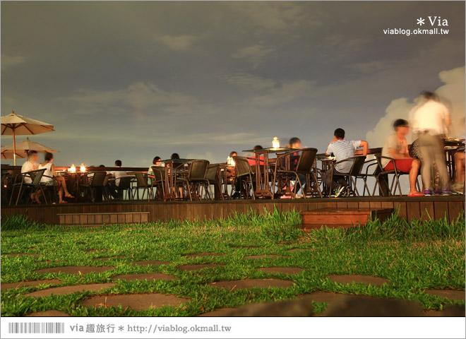 【台中夜景餐廳推薦】台中龍貓夜景~MITAKA 3e Cafe◎大推薦的台中約會地點♥ 50