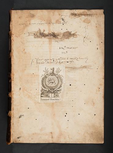 Provenance evidence in Leonicenus, Omnibonus: In Lucanum commentum