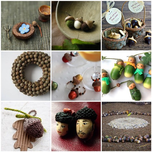 Friday Funspiration: acorns