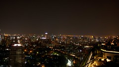 View from Banyan Tree Bangkok Rooftop