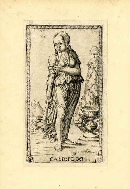 012-Caliope-Tarot Mantegna-© The Trustees of the British