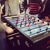 It always ends in table football!! Team building...