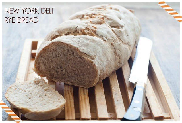 NEW YORK DELI RYE BREAD: RETO BAKE the WORL