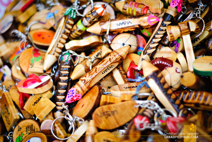 Vigan Keychain and Ref Magnet Souvenirs