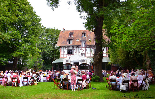 French Café Garden Party