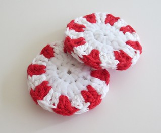 Peppermint Scrubbies