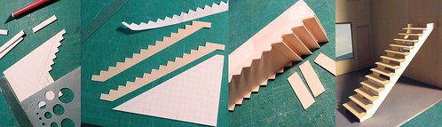 Making Stairs at 1:24th Scale