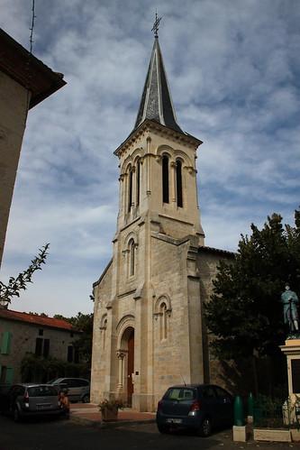 Eglise Saint-Pierre à la Sauvetat-de-Savères