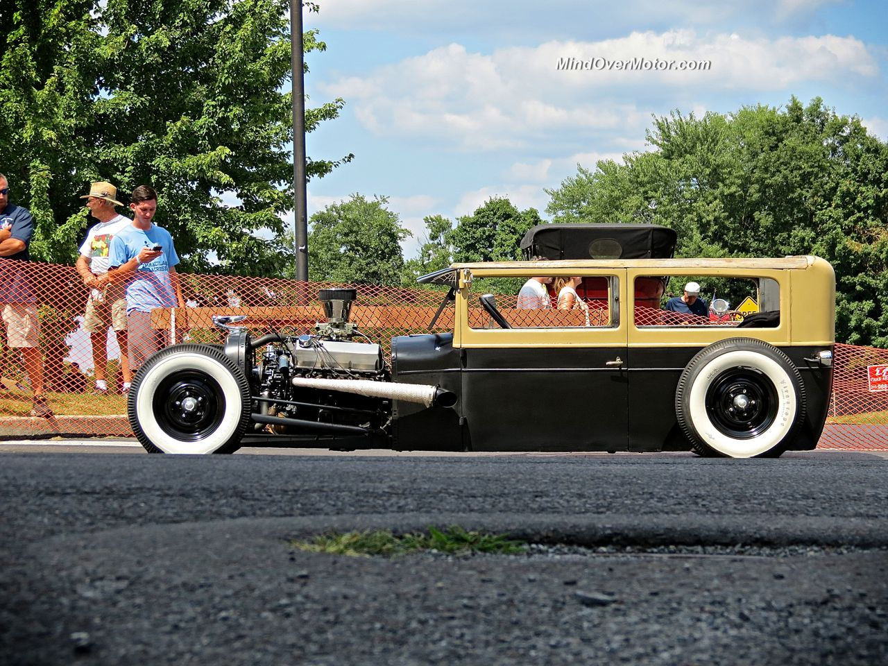 Ford Rat Rod in New Hope Side View