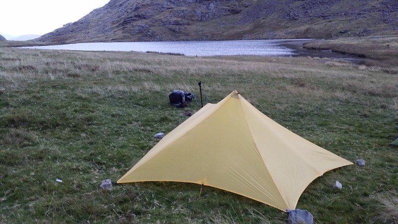 Saturday night's pitch at Styhead Tarn #sh