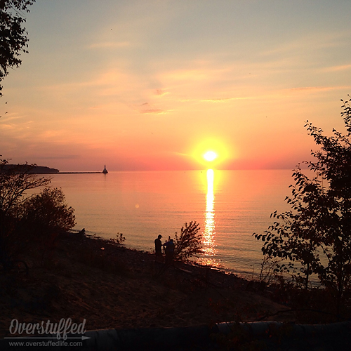 Lake Superior Sunset 9_27_14
