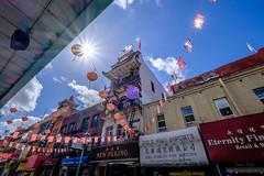 Chinatown shopfronts, San Francisco