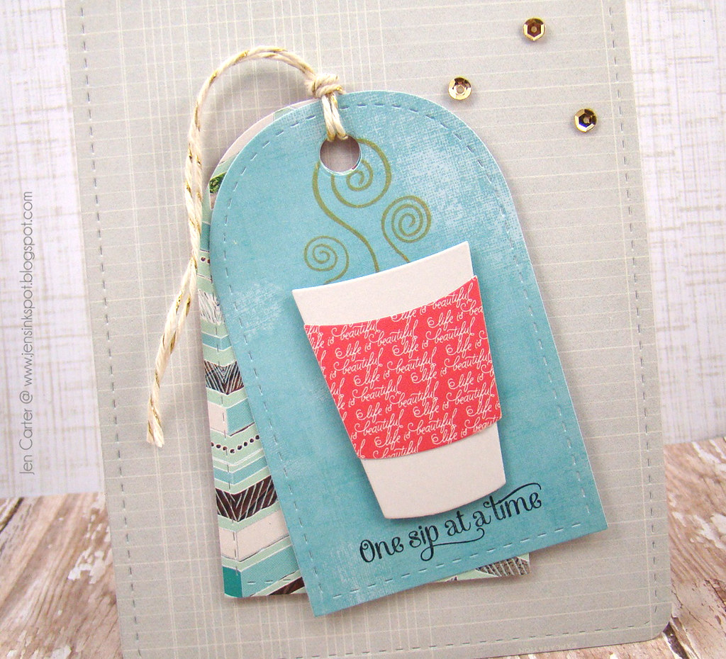Coffee Lovers Blog Hop Closeup