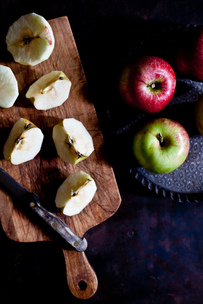 Apple Tarte Prep