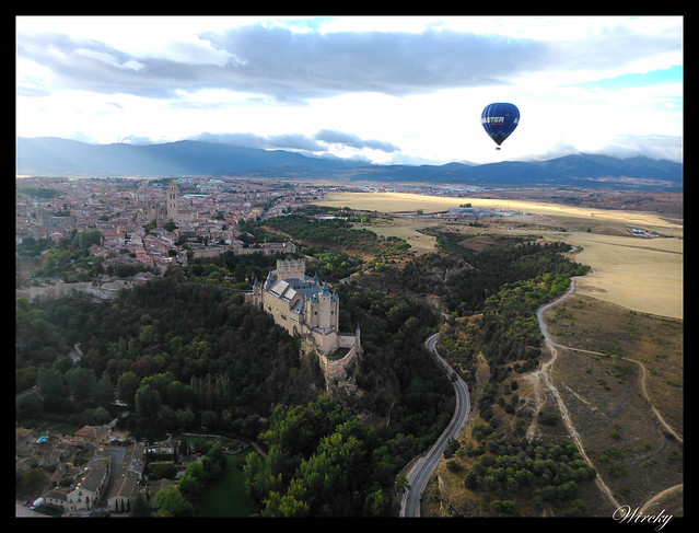 Sobrevolando Segovia