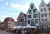 Erfurt, Domplatz, Häuser