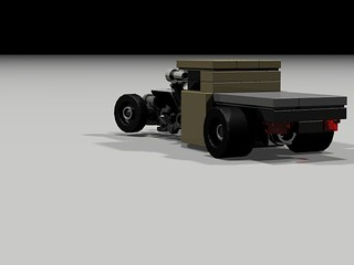 Flatbed Rat Rod - rear