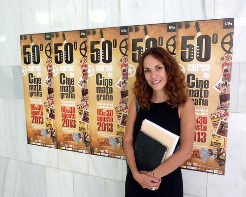 Paula Ortiz - Seminario - Curso Cinematografía Universidad Valladolid