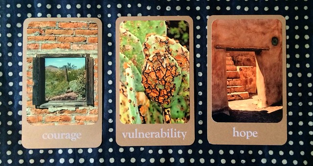 Desert Wisdom Cards - Three Card Spread
