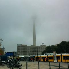 Tourist pic Berlin, fog edition