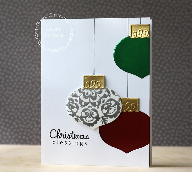 Paper Smooches~Ornaments dies