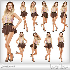 *EverGlow* Juicy poses