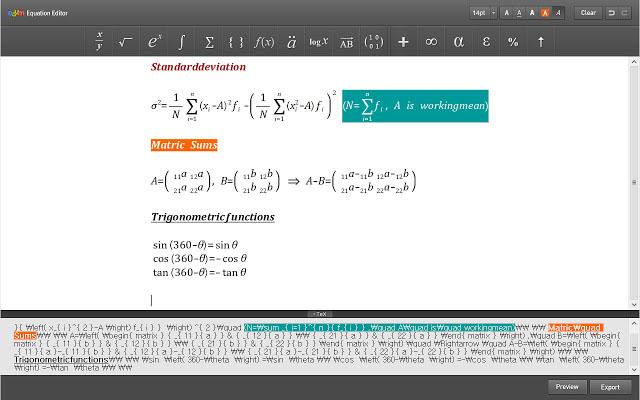 Daum Equation Editor