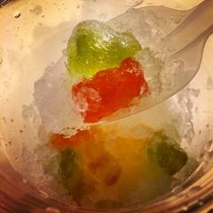 얼다 말아서 셔벳이 됨. #jellysoda #gummybear #gummybearsorbet