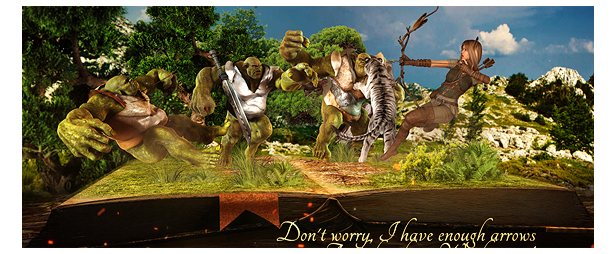 Adventure Pop Up Book by REACTORENERGY | VideoHive