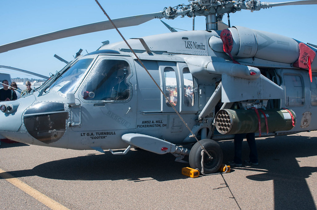 Rocket armed MH-60S