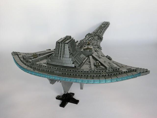 Stargate Universe Destiny (back)