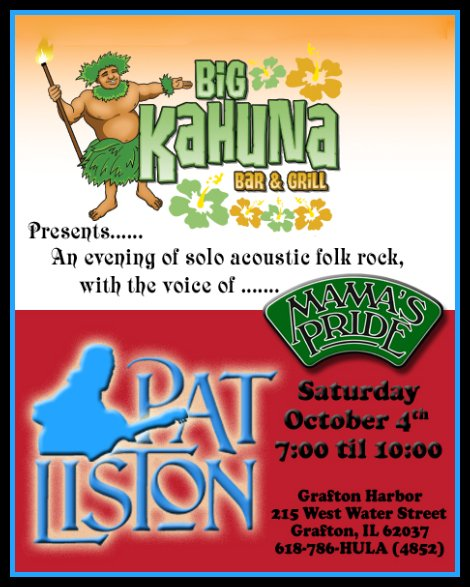Pat Liston 10-4-14
