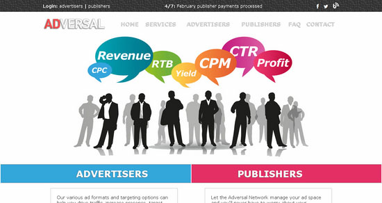 Adversal.com CPM Ad Network