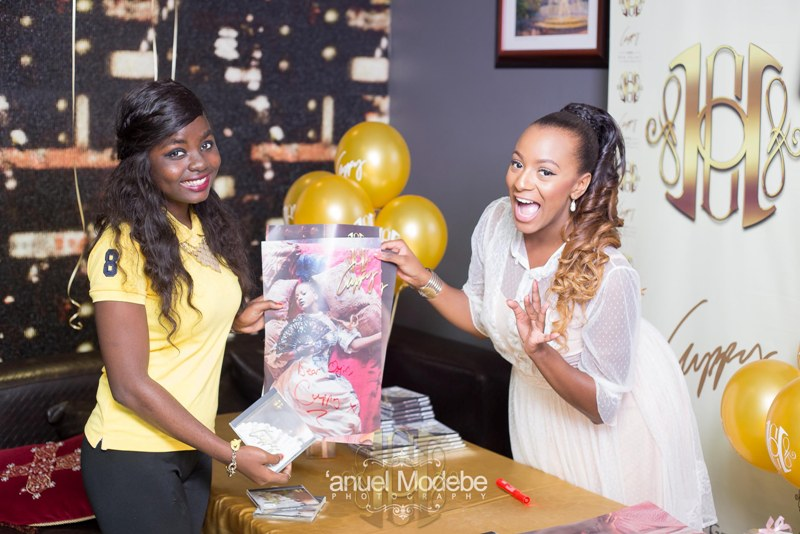 DJ Cuppy's Autograph signing session in Lagos