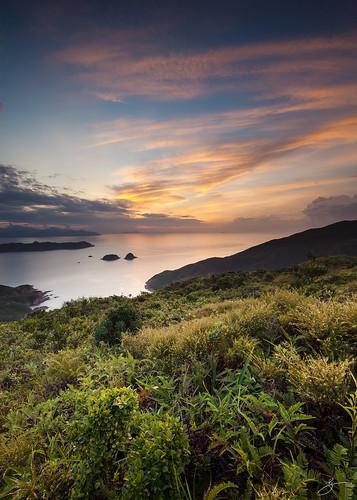 sky seascape sunrise canon landscape hongkong 香港 afterglow saikung 西貢 5dmarkii 螺地墩