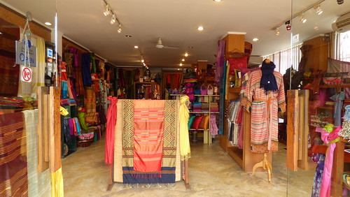 Koh Samui Silk shop -EGO