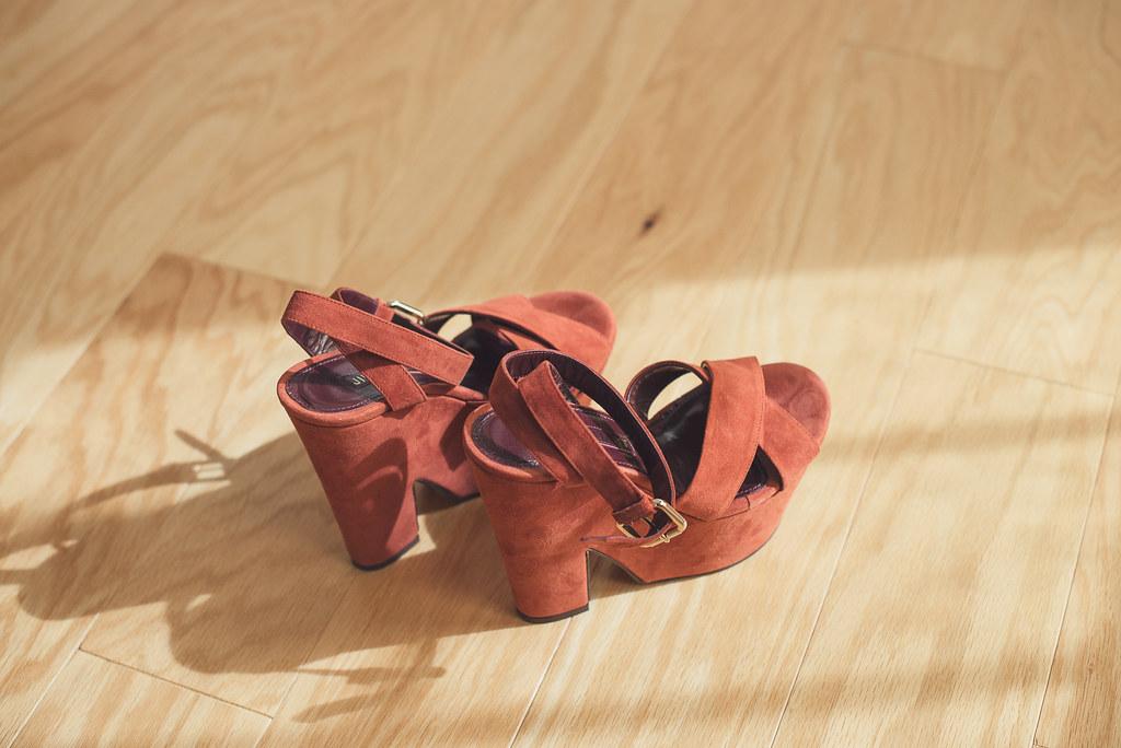 Jill Stuart Platform Sandals