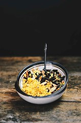 Indian Sweet Rice with Dried Figs and Nuts | A Bro…