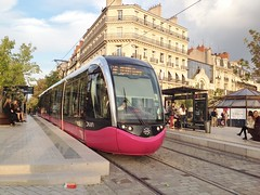 Trams de Dijon (France)