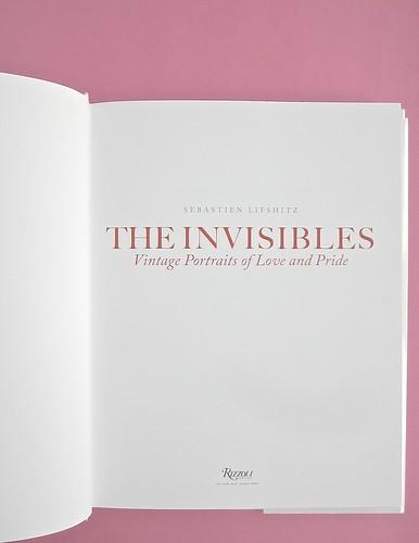 Sebastien Lifshitz, The Invisibles. Rizzoli International Publications 2014. Design: Isabelle Chemin. Frontespizio, a pag [5] (part.), 1