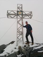 Gipfelkreuz Hoher Weißzint 3.371 m