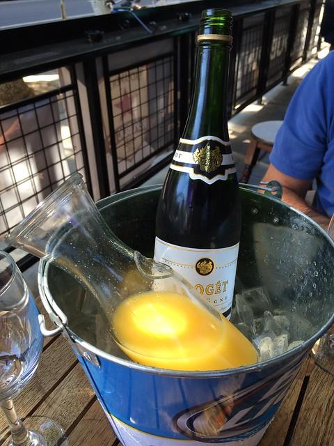 Almost bottomless mimosas - de Vere's Irish Pub